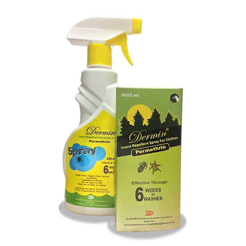 اسپری دافع حشرات درمین Dermin Insect Repellent Spray